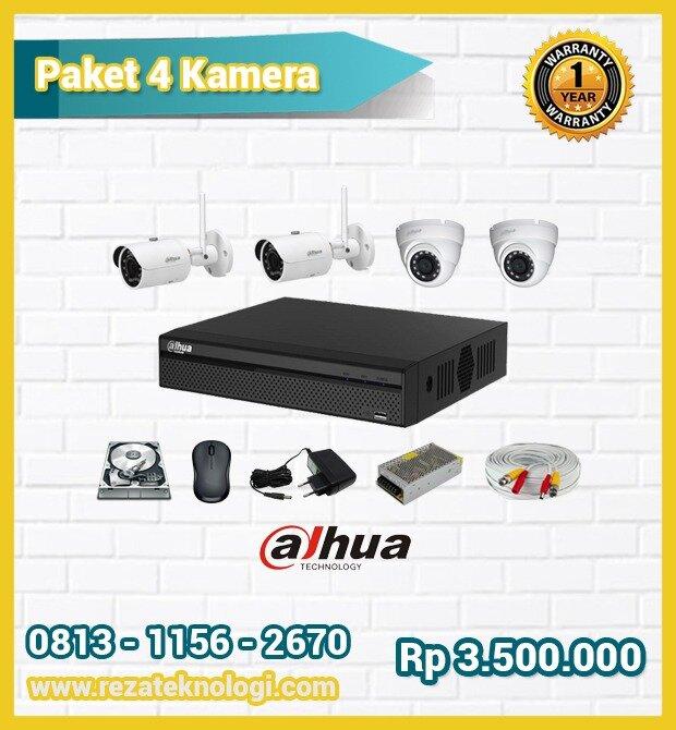 Paket 4 Kamera Reza Teknologi