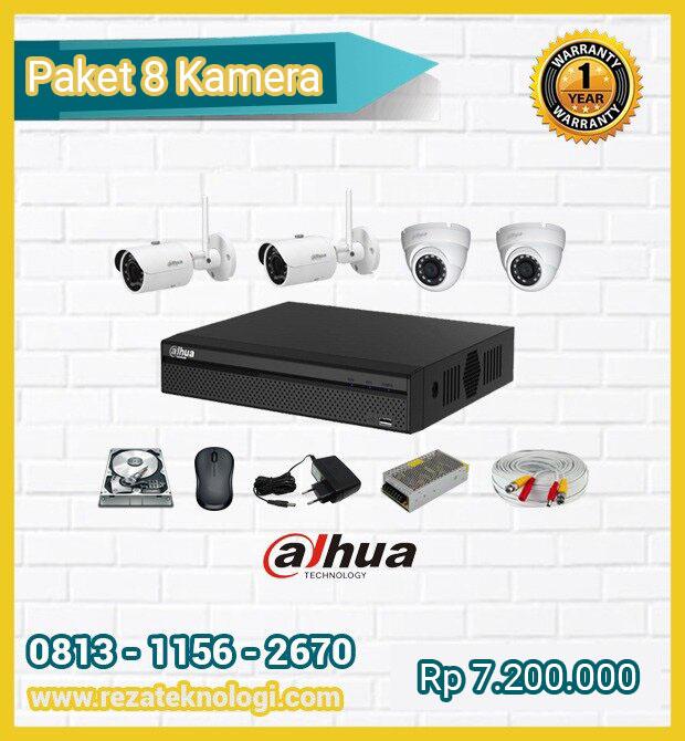 Paket 8 Kamera Reza Teknologi